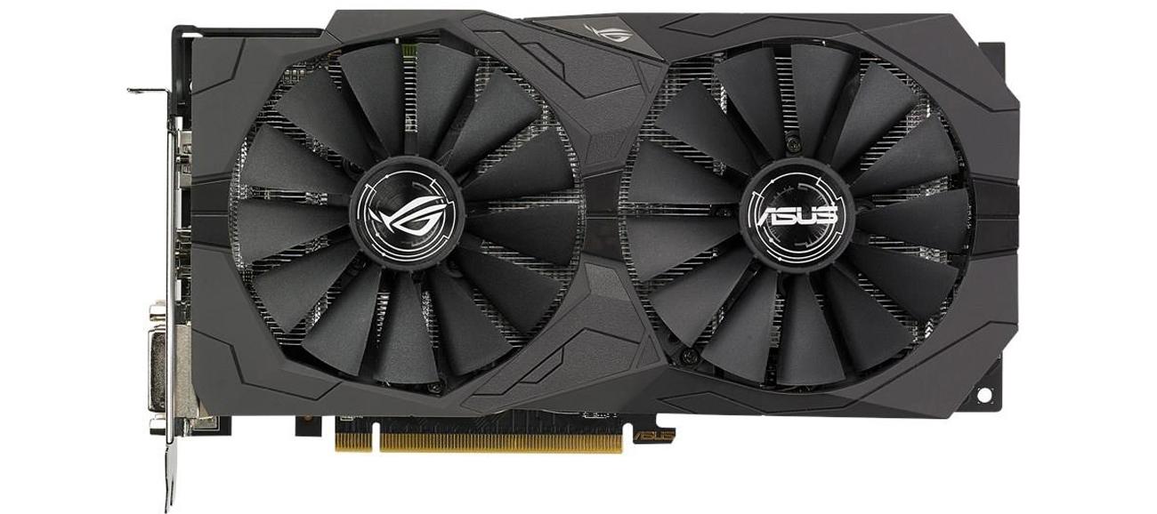 ASUS Radeon RX 570 Strix OC Chłodzenie
