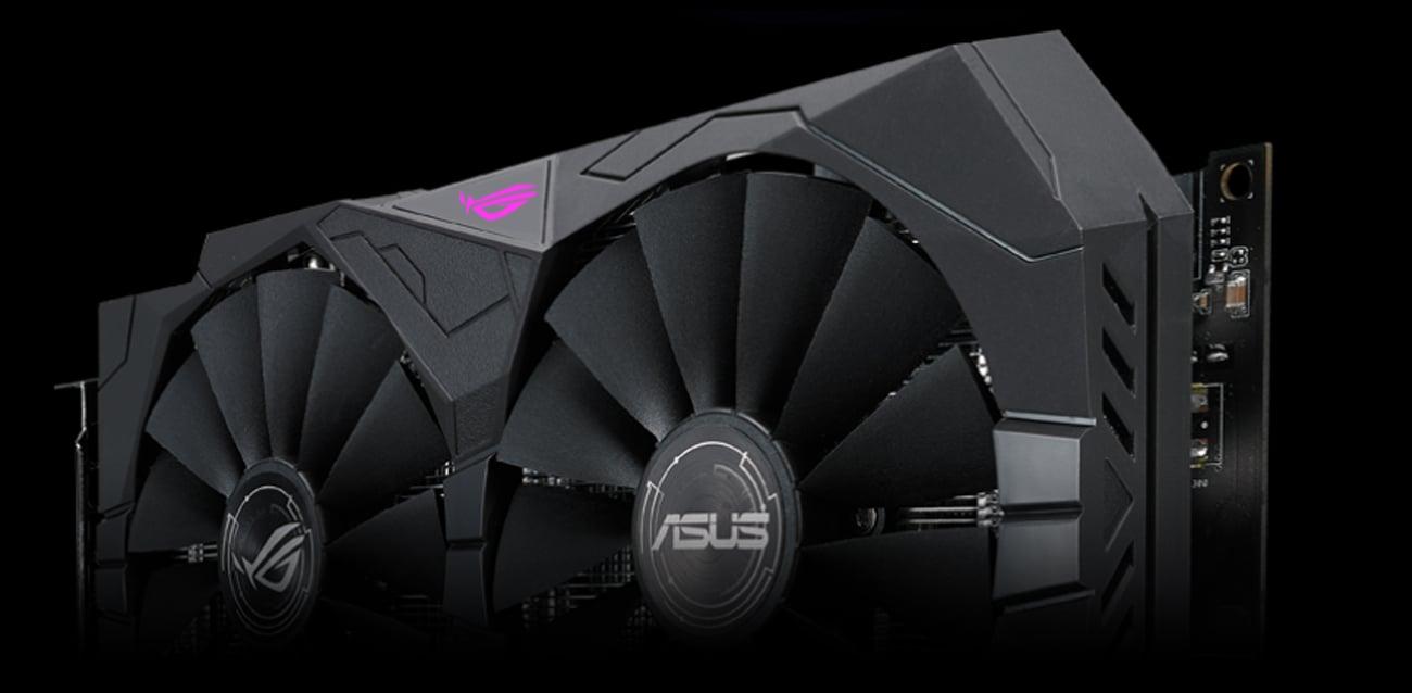ASUS Radeon RX 570 Strix OC Podświetlenie Aura RGB