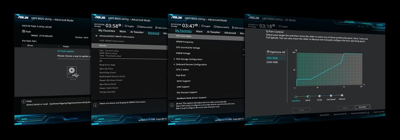 ASUS H110M-K BIOS UEFI