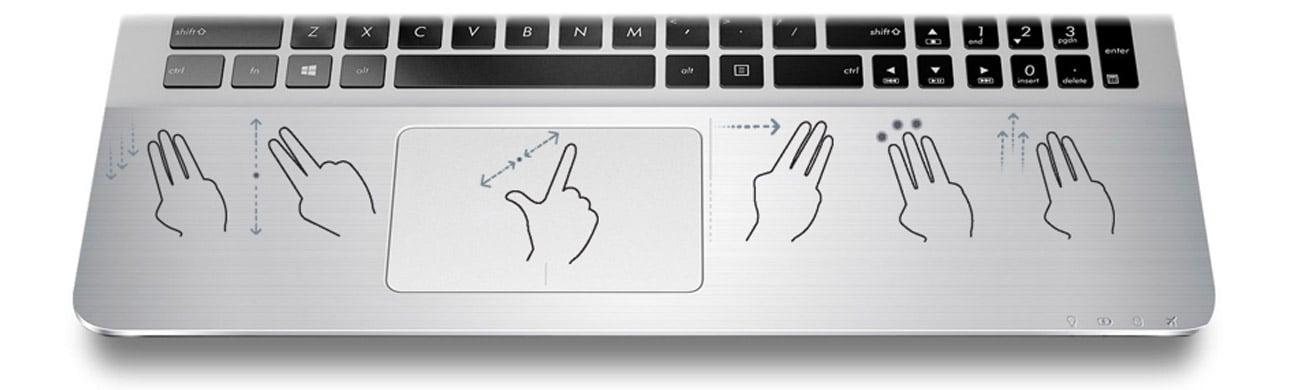 klawiatura w laptopie ASUS R540