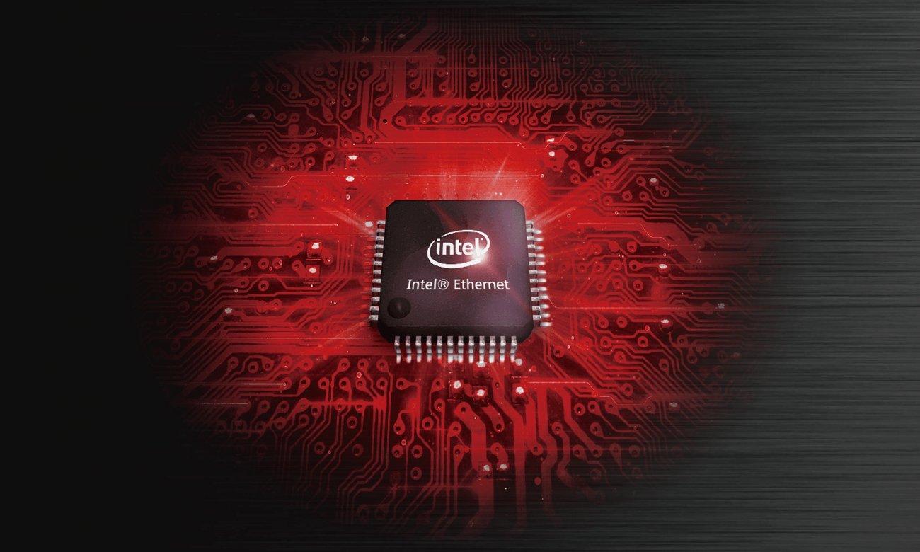 ASUS MAXIMUS VIII HERO Sieć Intel Gigabit Ethernet