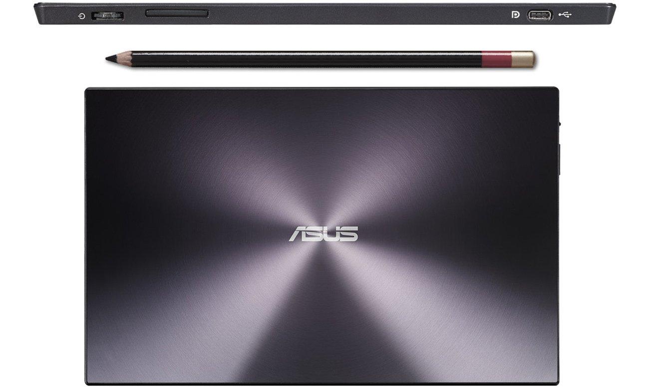 ASUS MB169C+ czarny wzornicteo