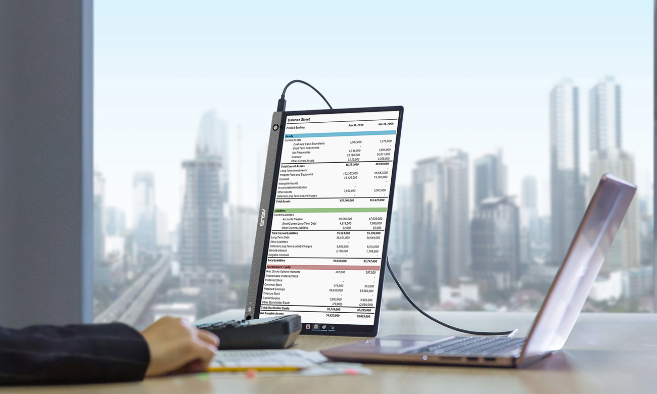 Monitor przenośny ASUS ZenScreen GO MB16AHP