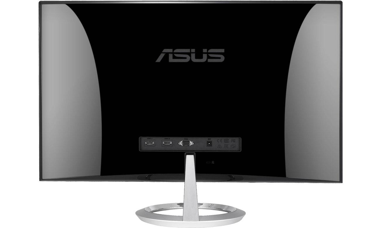 ASUS Designo MX279HE - Widok z tyłu, złącza