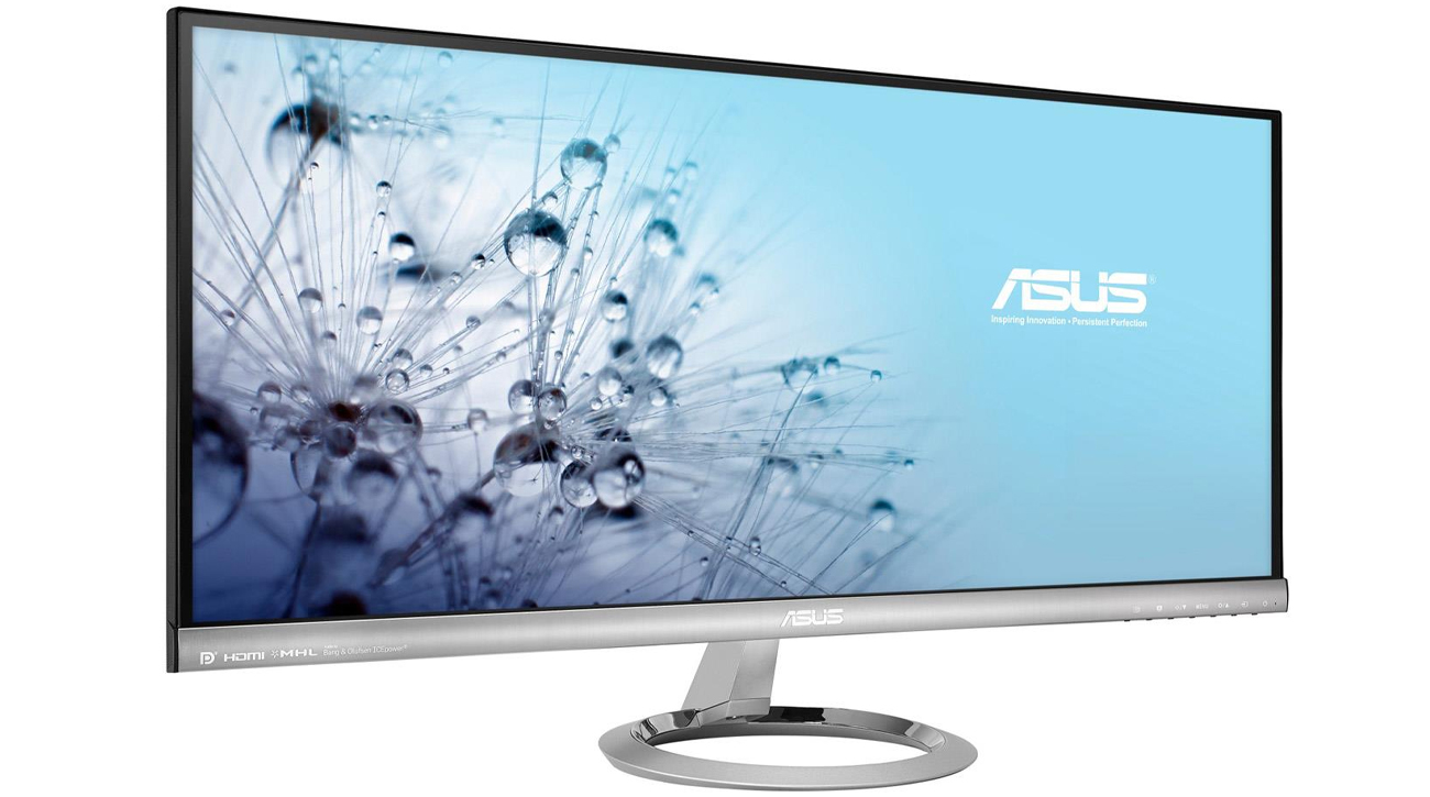 Kinowy monitor ASUS Proporcje