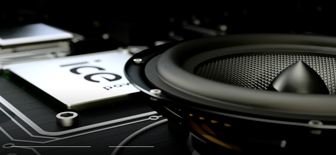 Kinowy monitor ASUS Dźwięk