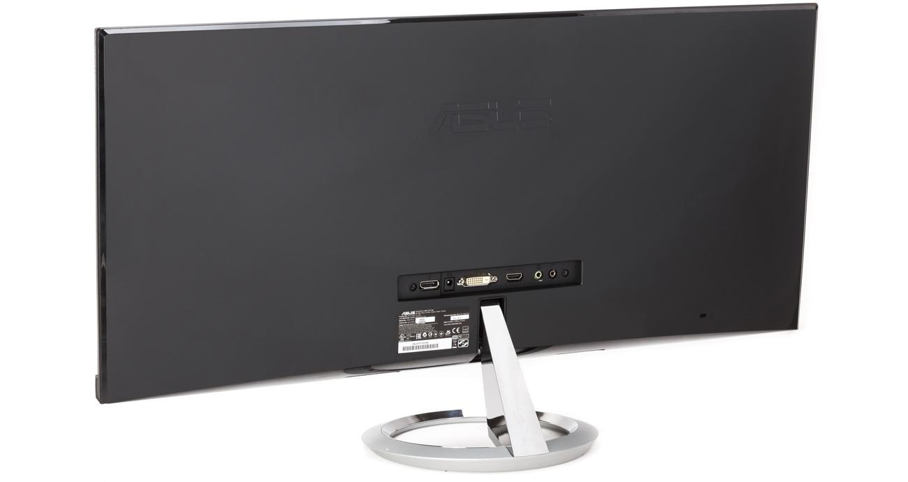 Kinowy monitor ASUS Złącza