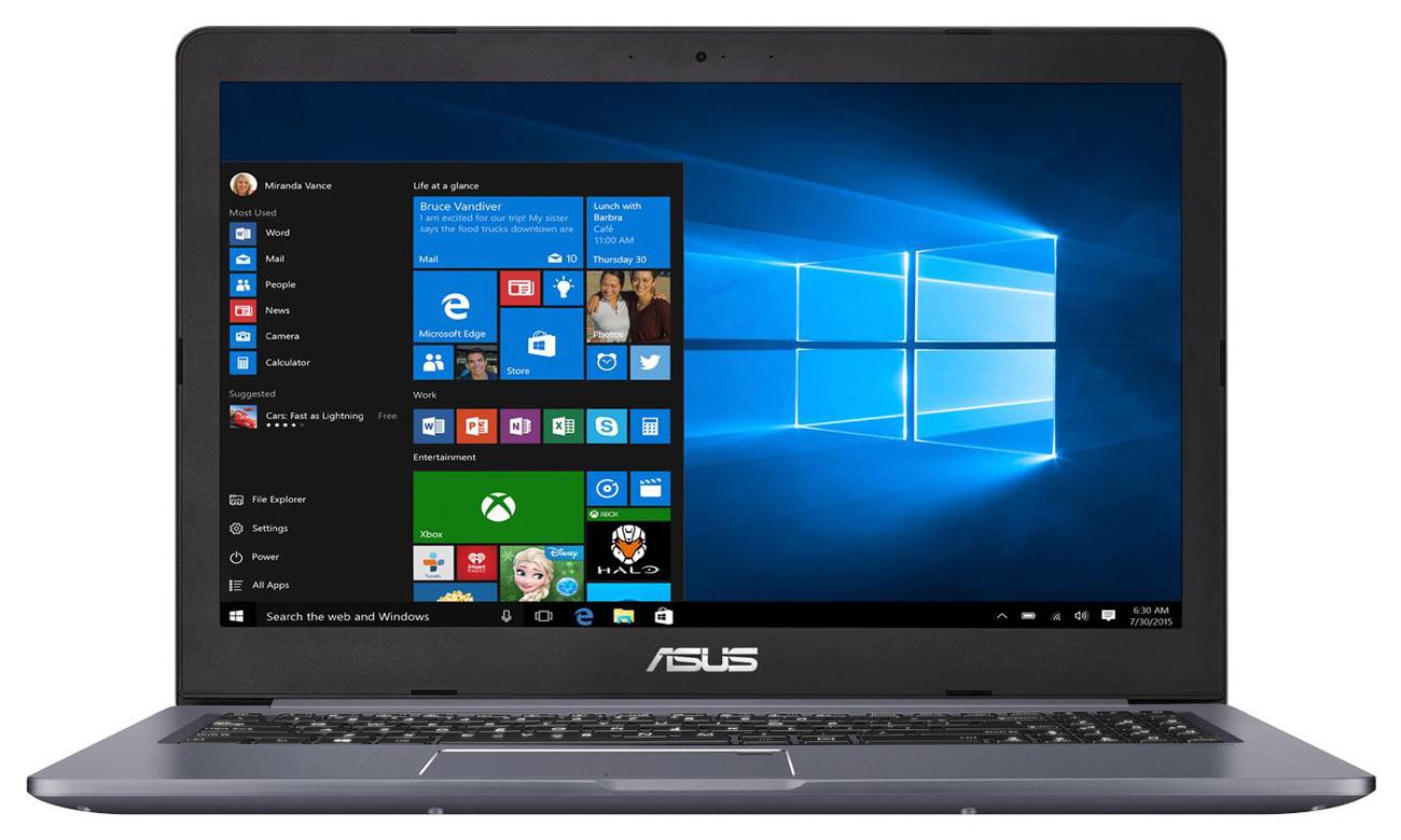 ASUS VivoBook Pro 15 N580GD Full HD, ASUS Splendid, szerokokątny ekran