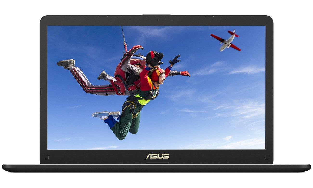 VivoBook Pro 17 N705UD Full HD, ASUS Splendid, szerokokątny ekran, paleta kolorów