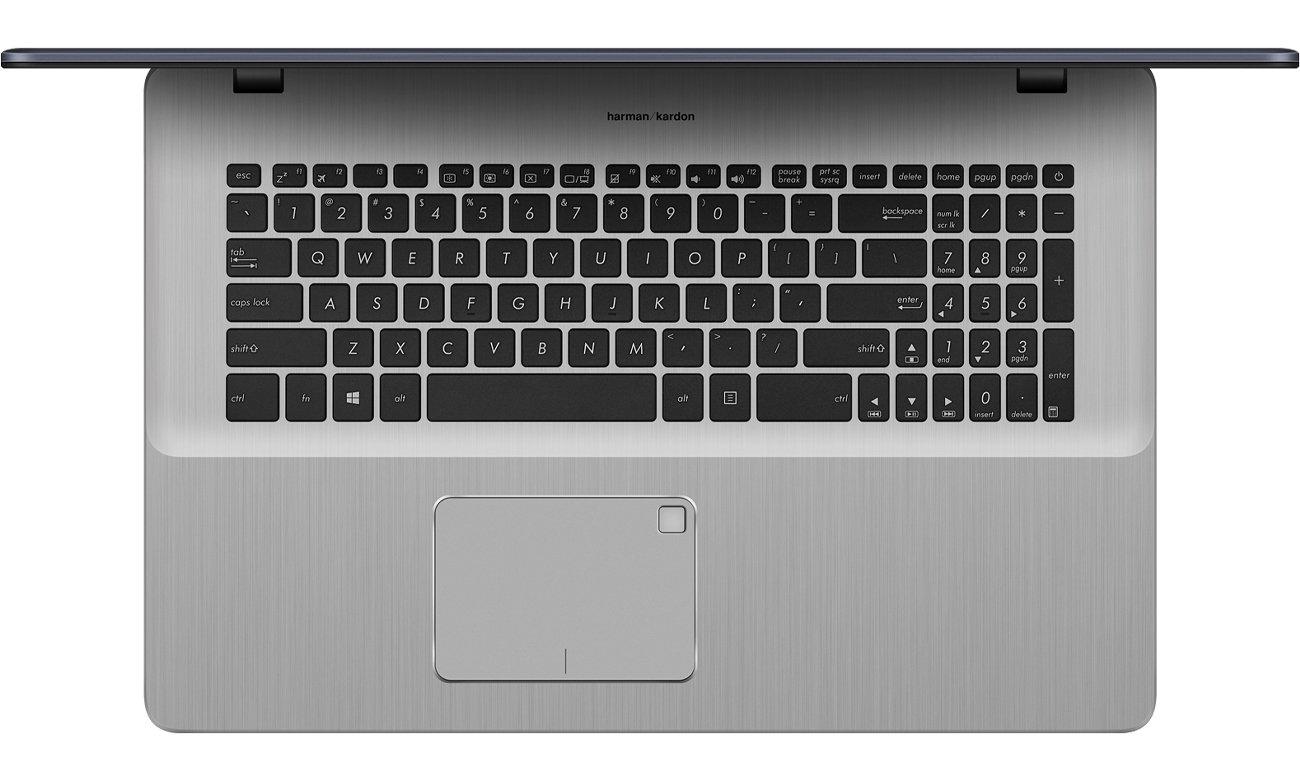 ASUS VivoBook Pro 17 N705UD podświetlana klawiatura