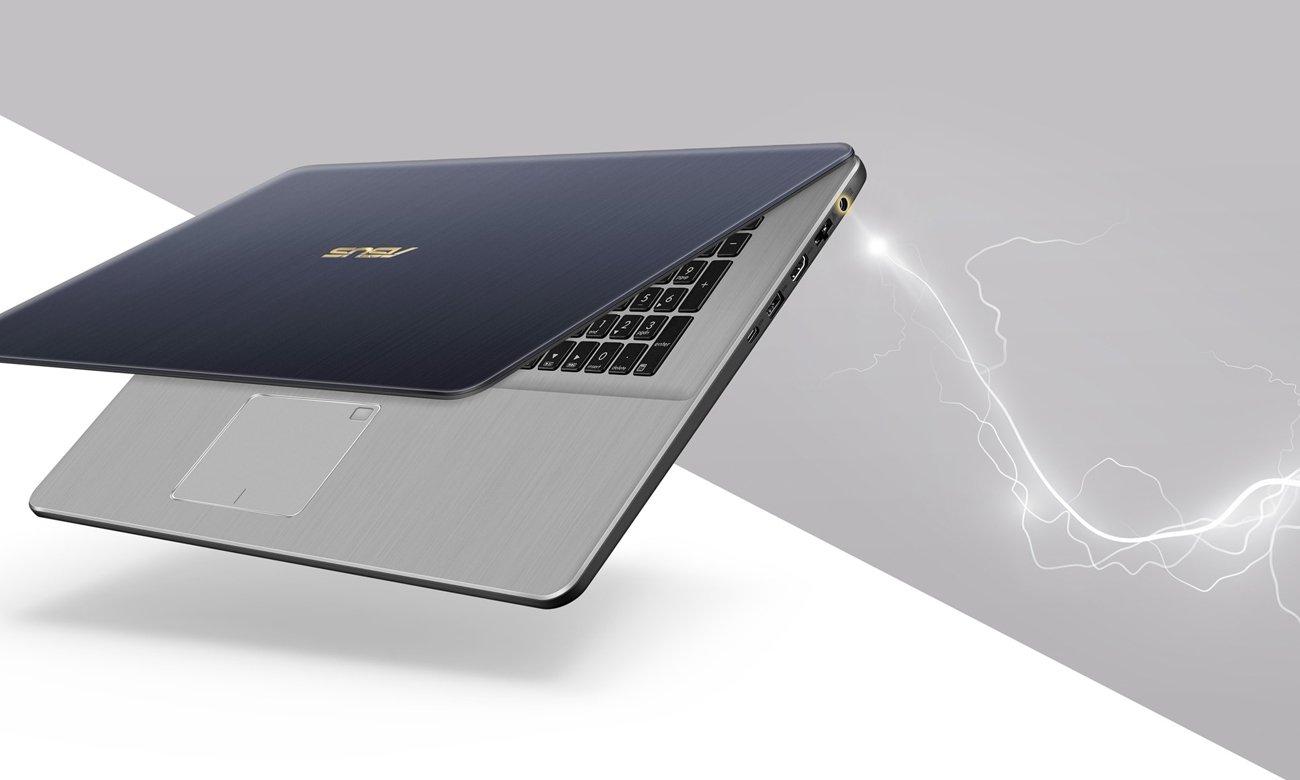 ASUS VivoBook Pro 17 N705UD Technologia szybkiego ładowania i Wydajna bateria