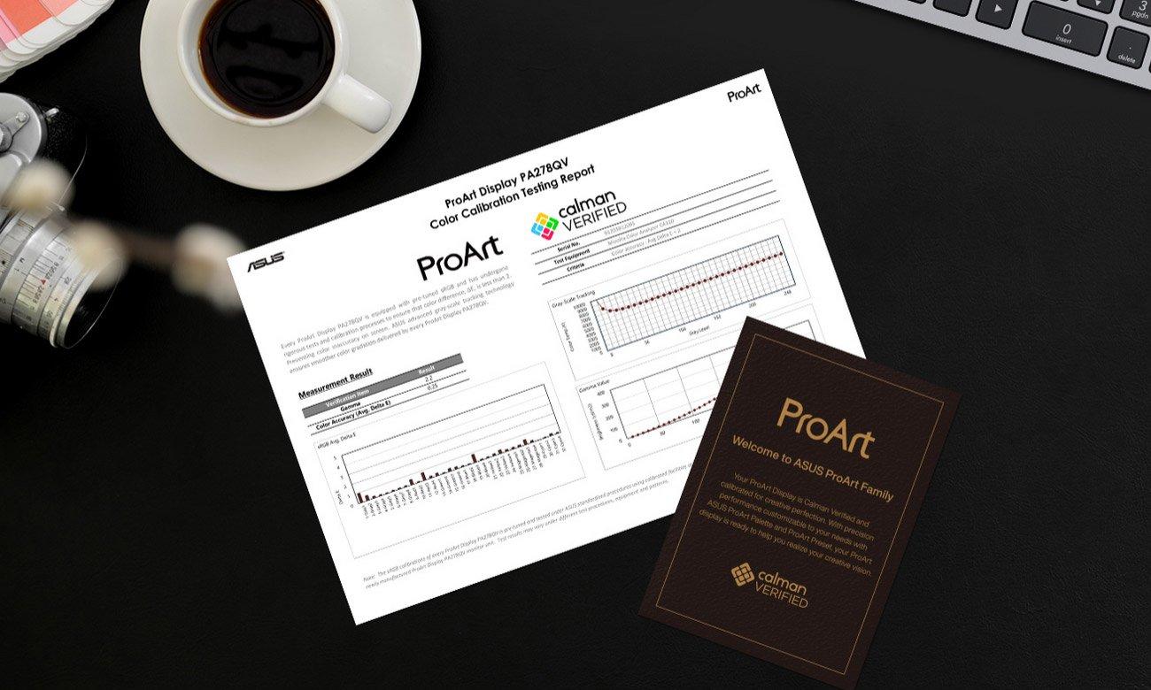 Monitor dla grafików i fotografów ASUS ProArt PA278QV