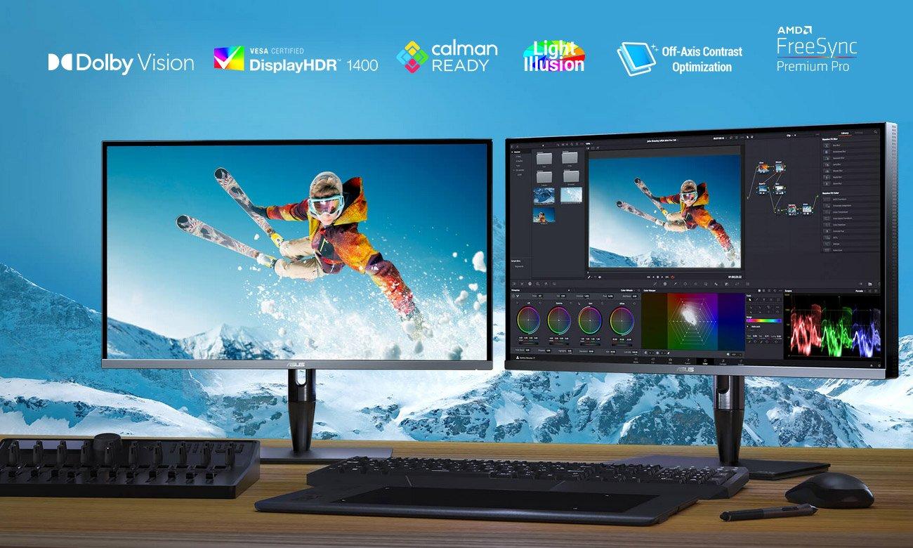Monitor dla grafika i fotografa ASUS ProArt PA32UCG-K