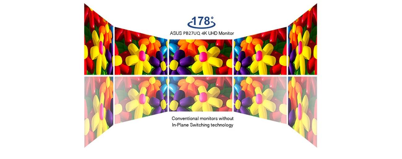 ASUS PB27UQ 4K Technologia IPS