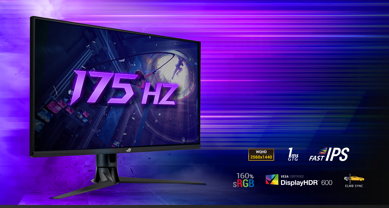 Monitor dla graczy ASUS ROG SWIFT PG329Q