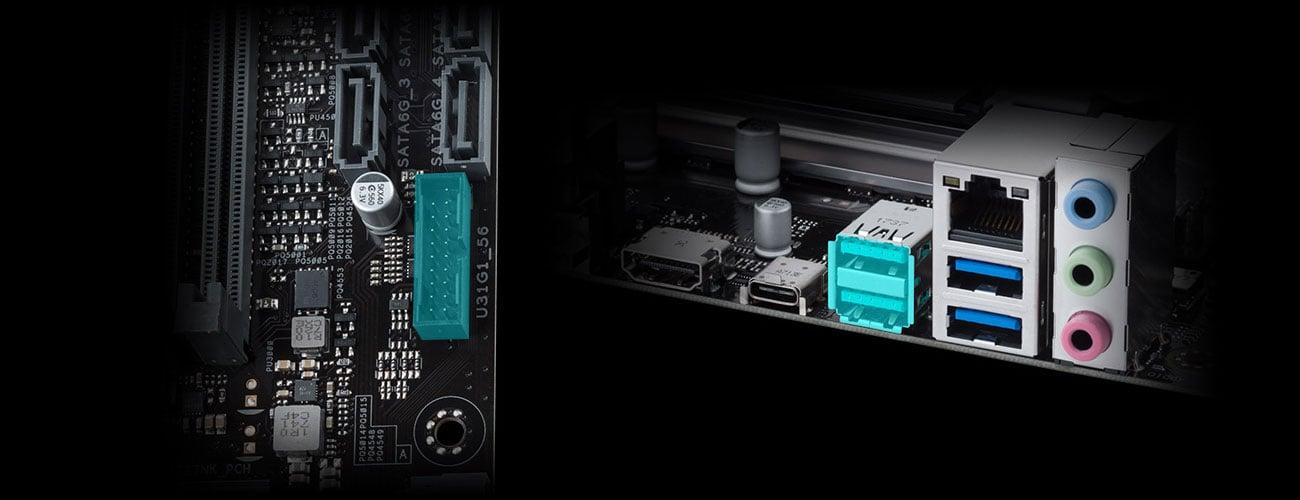 ASUS PRIME B450-PLUS USB