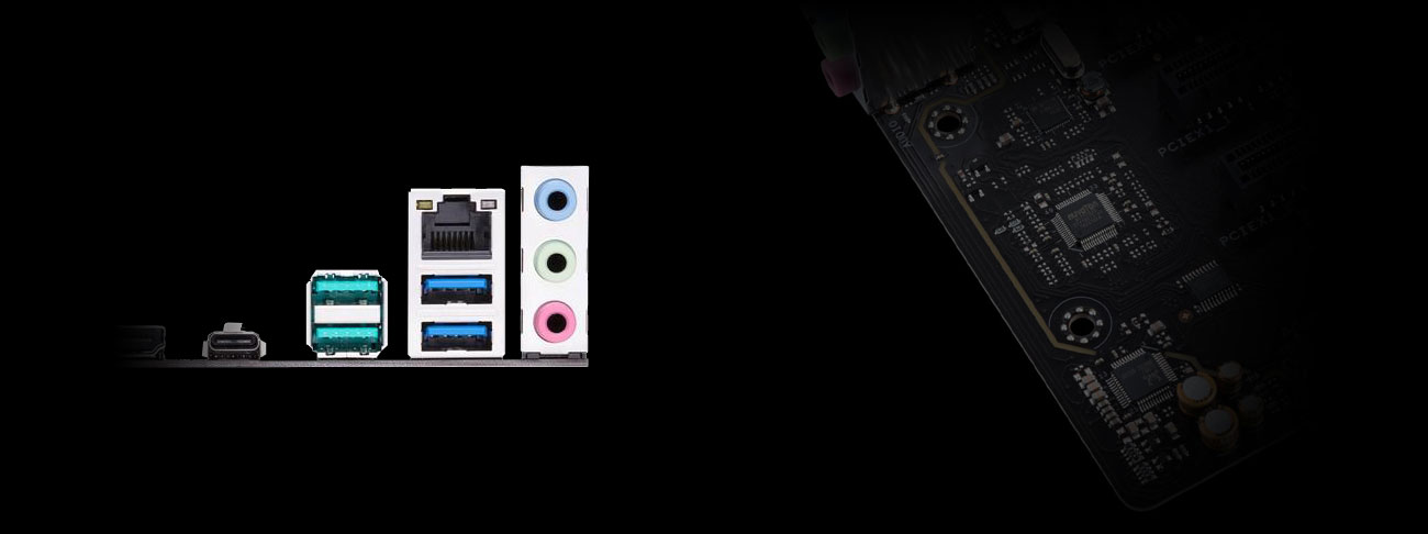 ASUS PRIME B450-PLUS Dźwięk