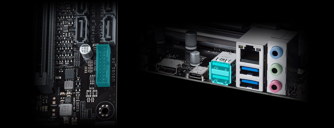 ASUS PRIME B450M-A USB