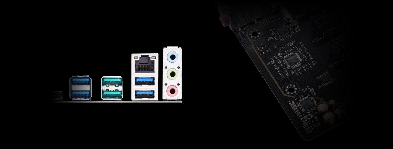 ASUS PRIME B450M-A Dźwięk