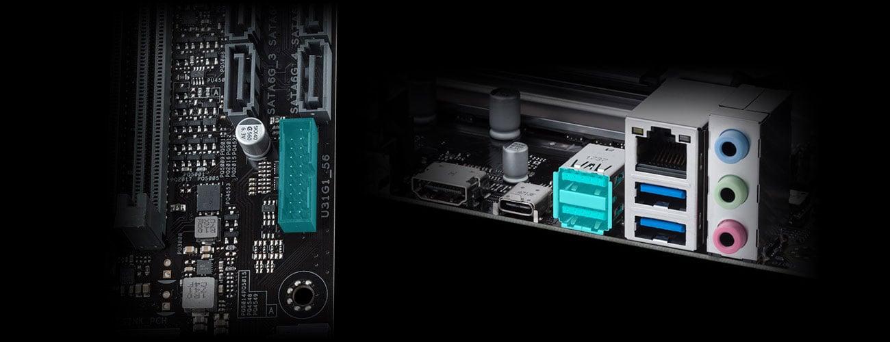 ASUS PRIME B450M-K USB
