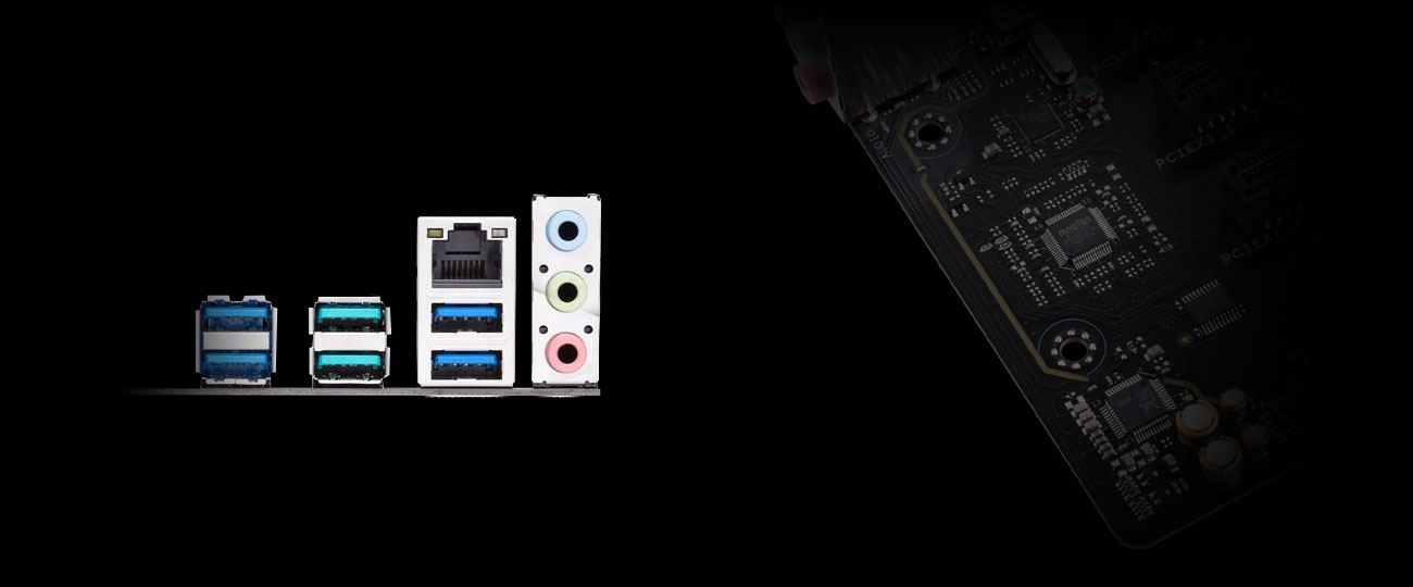 ASUS PRIME B450M-K Dźwięk