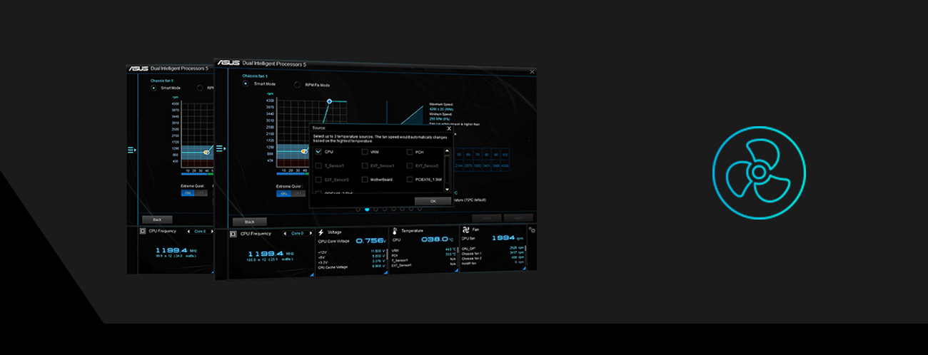 Płyta główna Asus PRIME H310M-A funkcje sterowanie chłodzeniem tryb Auto-tuning