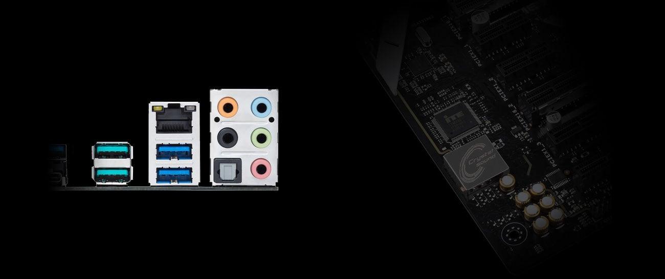 ASUS PRIME X470-PRO Crystal Sound 3 Realtek ALC S1220A