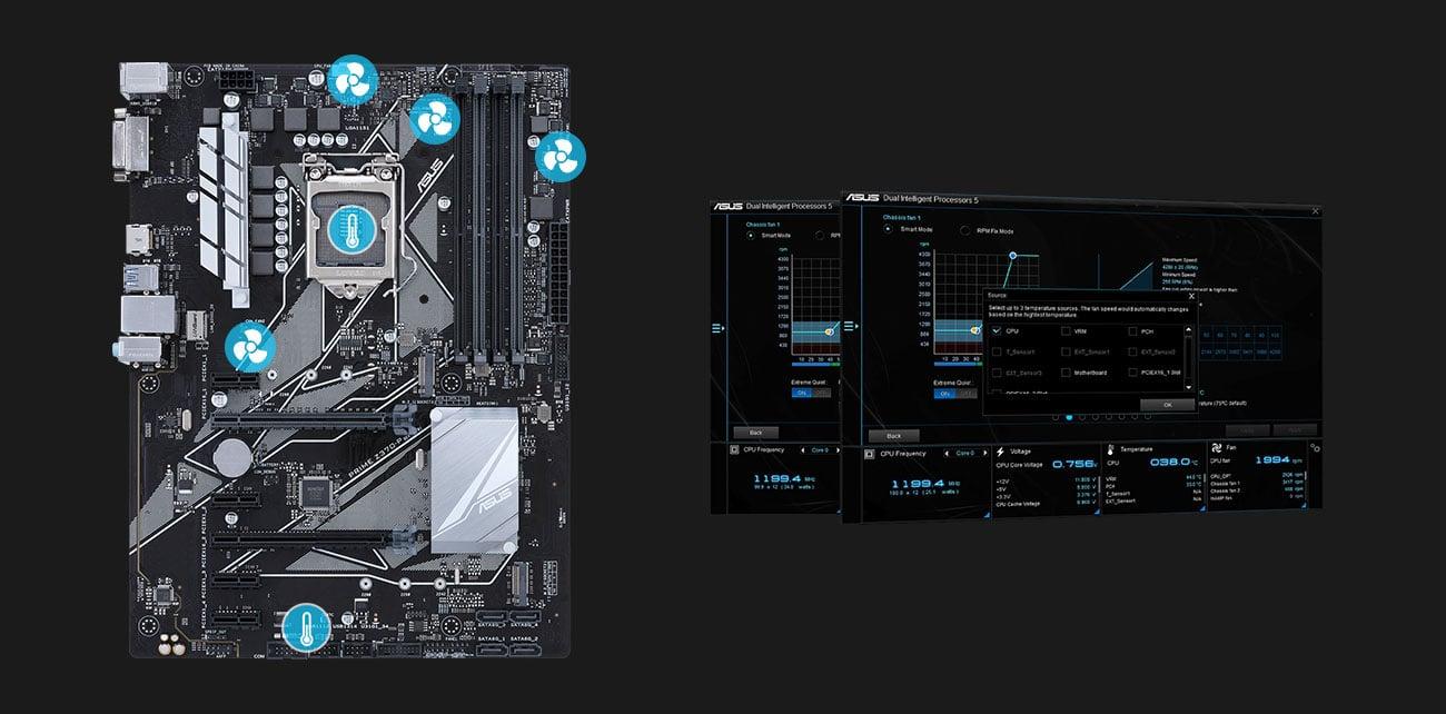 ASUS PRIME Z370-P Fan Xpert 4 Core