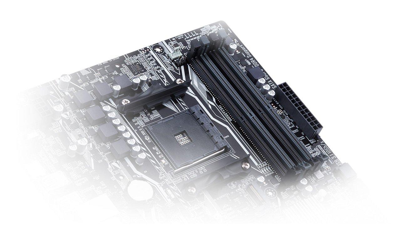 DDR4 Prime A320 z trybem hardware-level 4-pin/3-pin PWM/DC