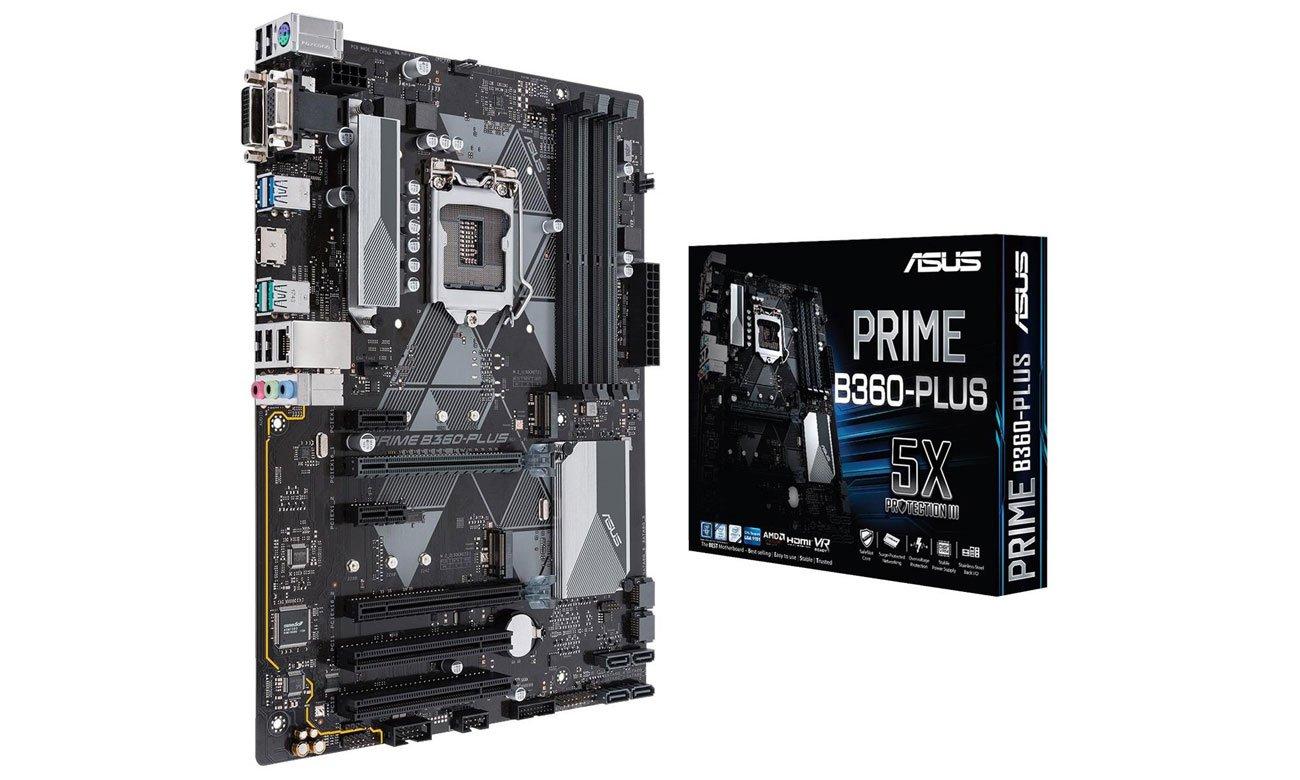 Asus Prime B360-Plus Solidna podstawa i mnóstwo możliwości