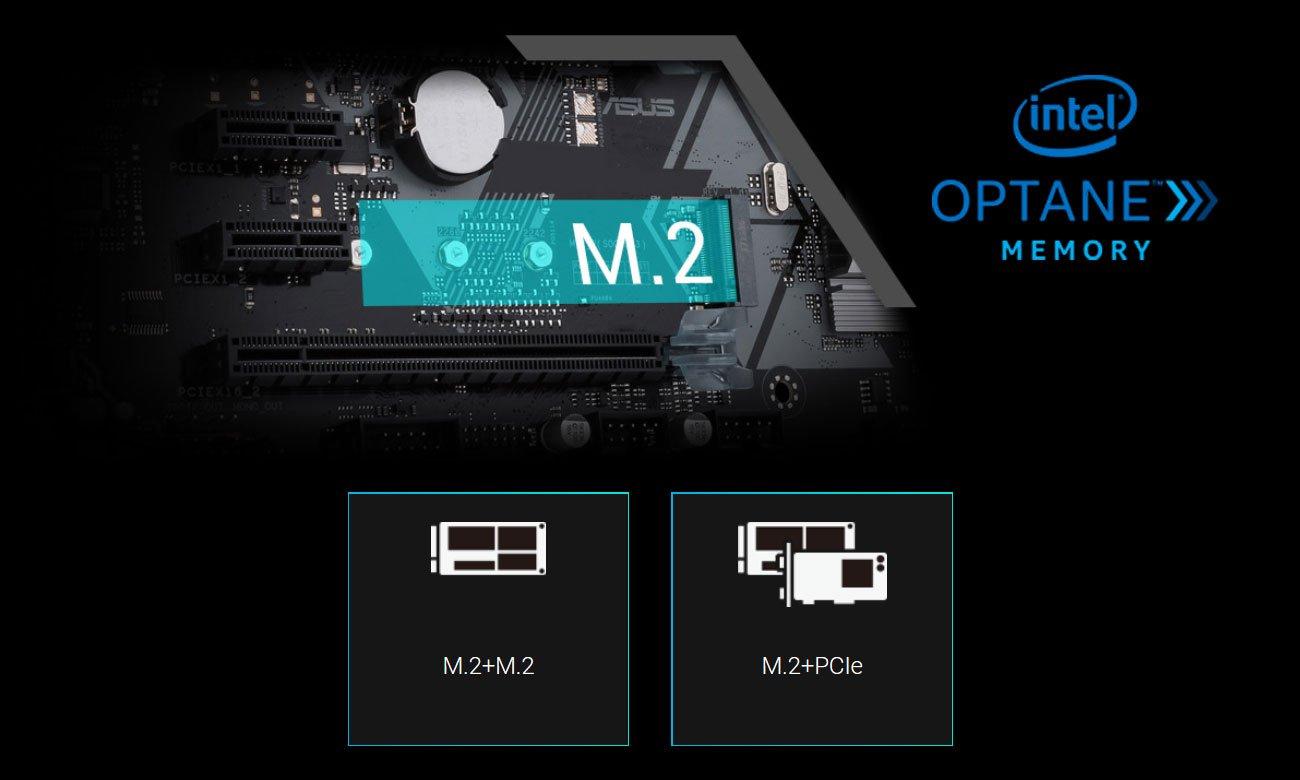 Asus Prime B360-Plus Gniazdo M.2 z obsługą macierzy RAID