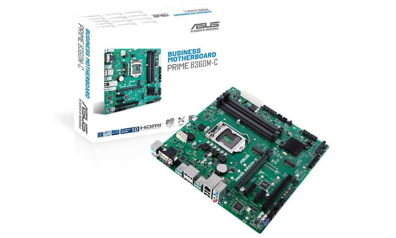 ASUS PRIME B360M-C Biznesowa płyta główna