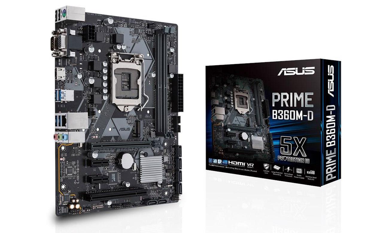 Asus Prime B360M-D Solidna podstawa i mnóstwo możliwości
