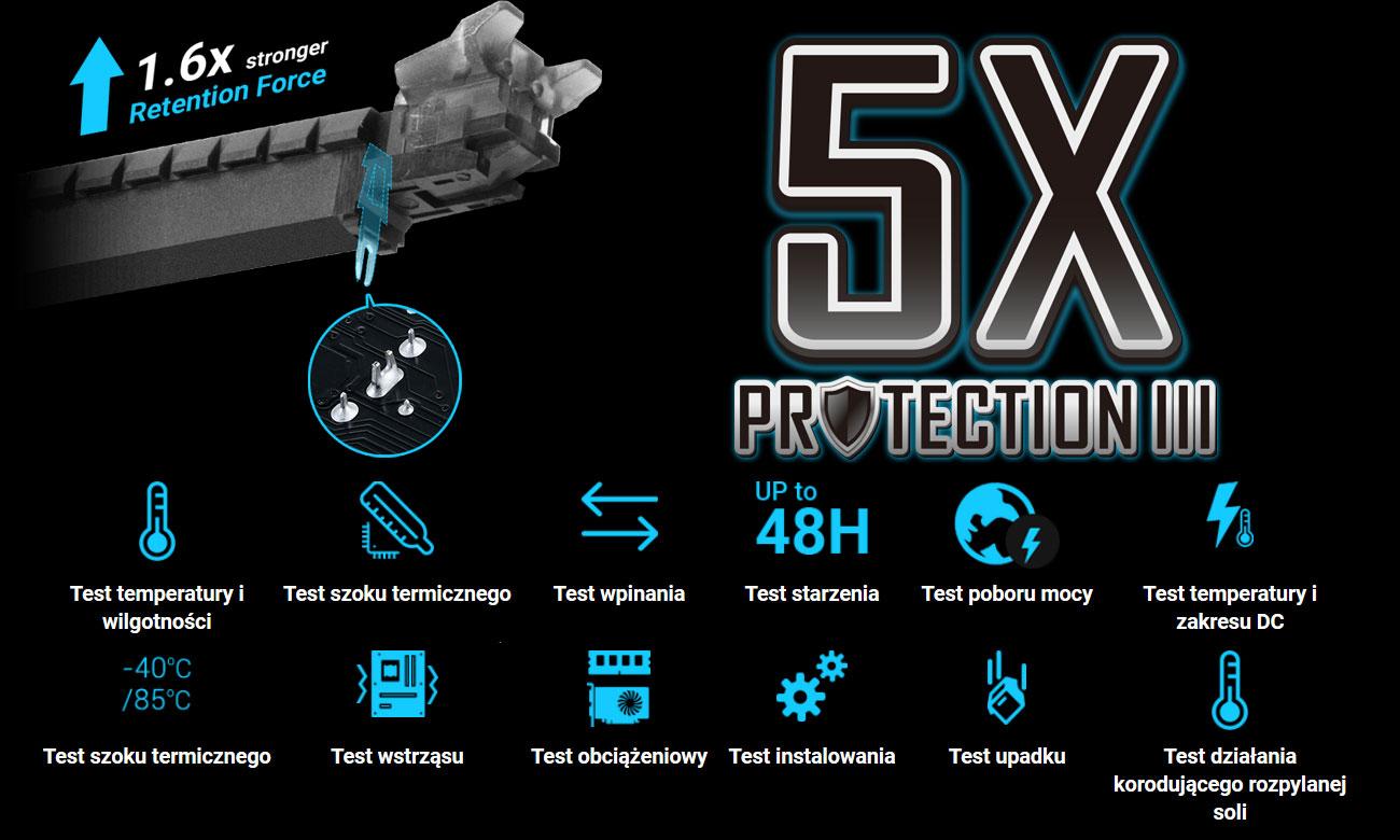 Asus Prime B360M-D Zaprojektowana dla trwałości, 5X Protection III