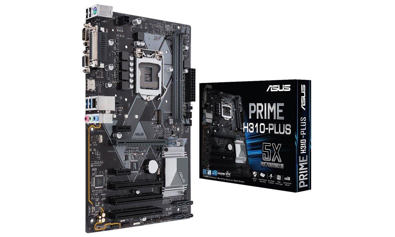 ASUS Prime H310-PLUS Solidna podstawa dla systemu