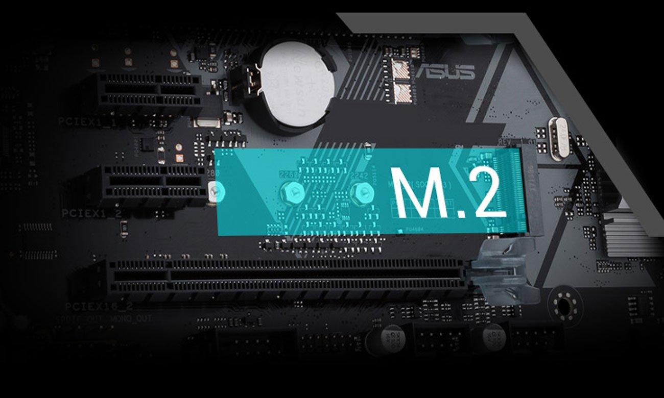ASUS Prime H310-PLUS Przyspiesz z wbudowanym gniazdem M.2