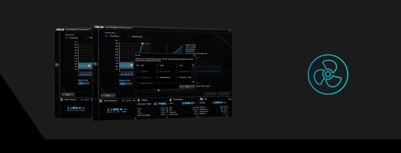 Płyta główna Asus PRIME H310M-D funkcje sterowanie chłodzeniem tryb Auto-tuning