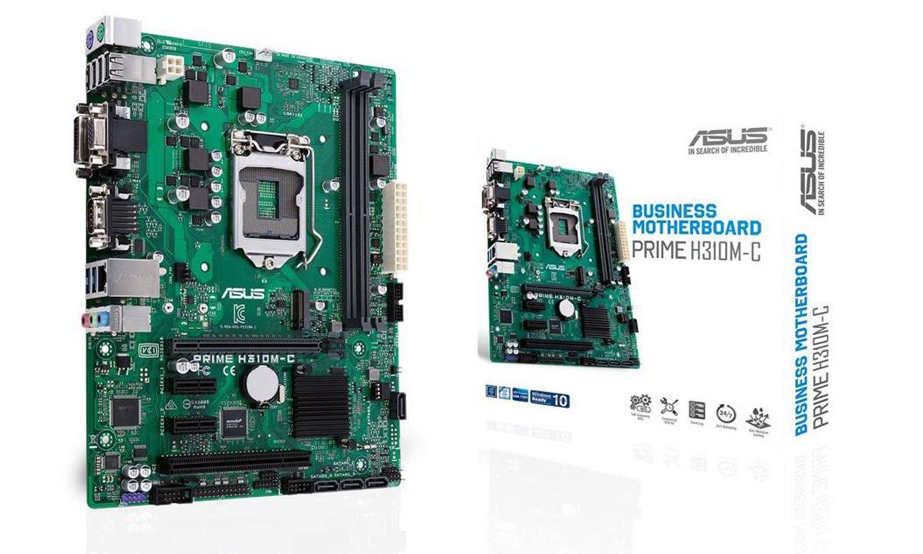 ASUS Prime H310M-C Płyta główna do zastosowań biznesowych