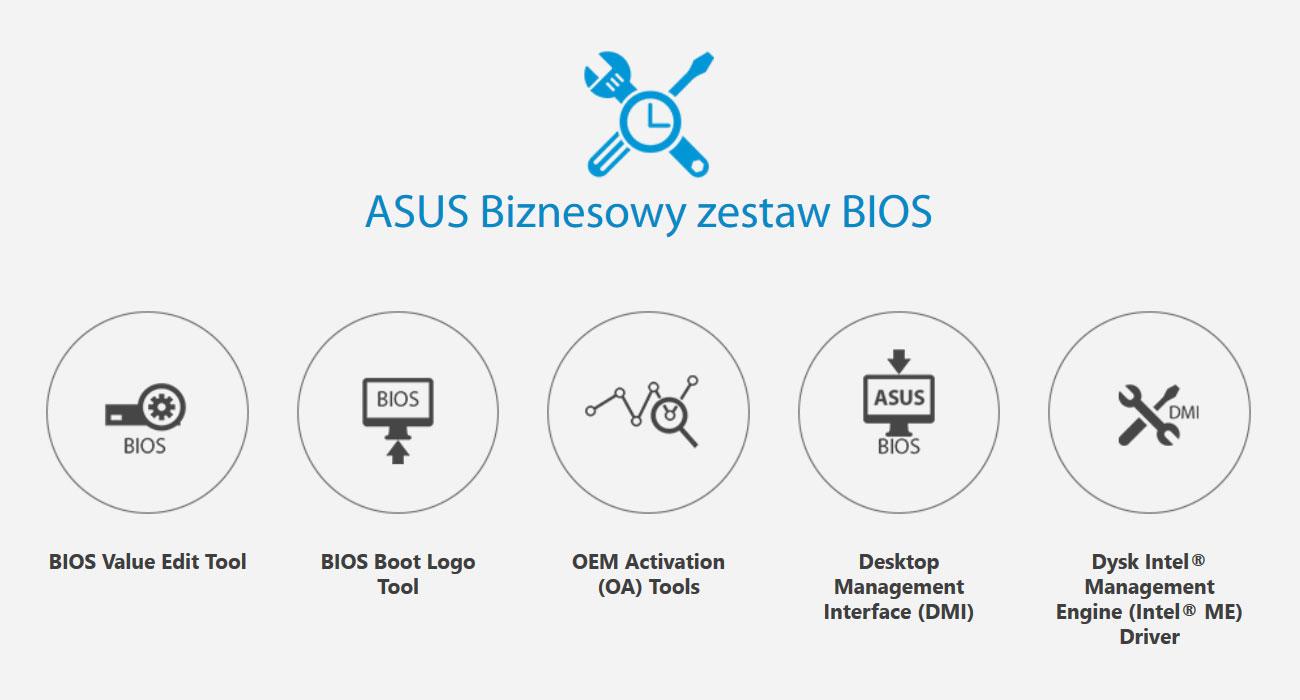ASUS Prime H310M-C Biznesowy zestaw BIOS
