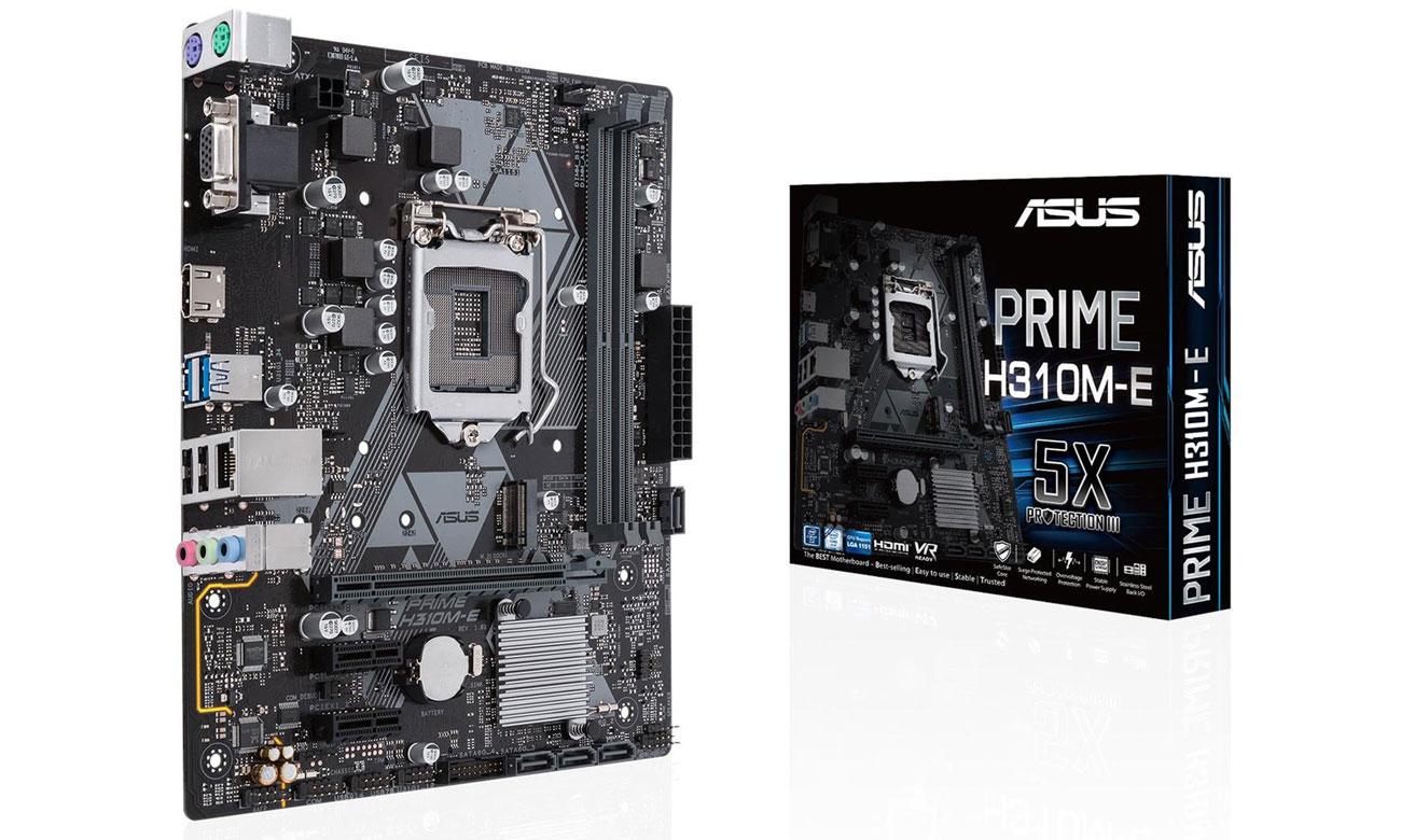 ASUS Prime H310M-E Solidna podstawa dla systemu