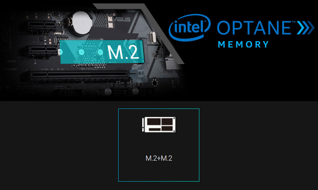 ASUS PRIME H370-PLUS Intel Optane, M.2, RAID