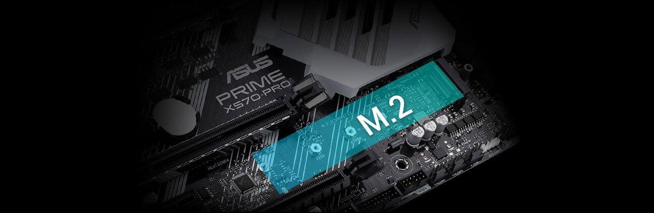 ASUS PRIME X570-PRO - Złącza M.2