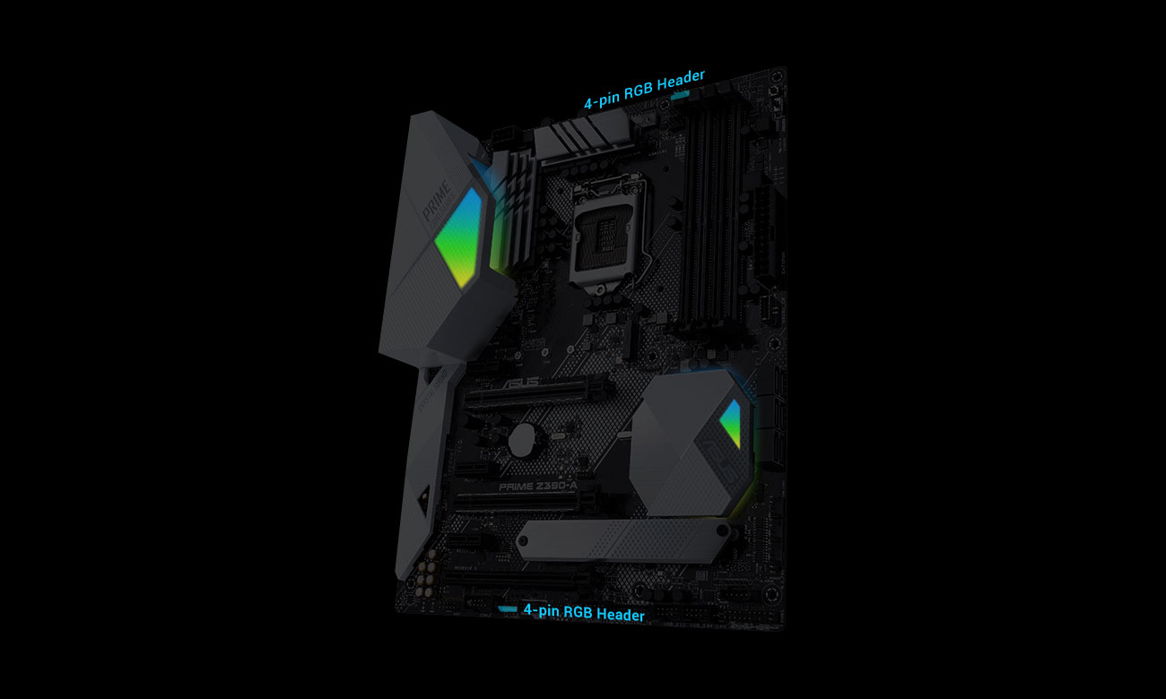 ASUS PRIME Z390-A Podświetlenie Aura Sync
