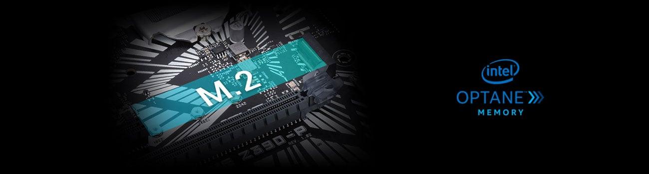 ASUS PRIME Z390-P Złącze M.2 Intel Optane