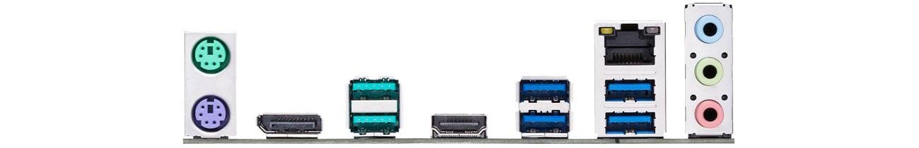 ASUS PRIME Z390-P Złącza zewnętrzne LAN
