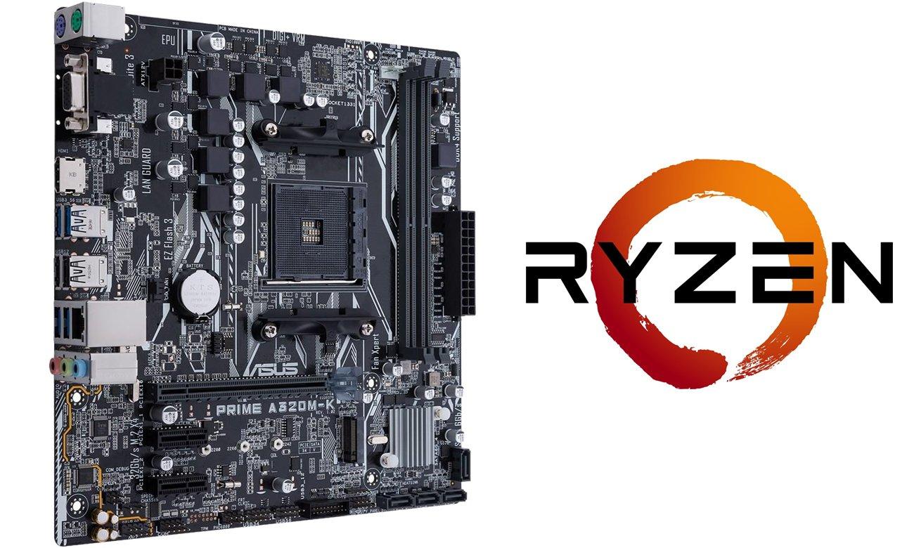 ASUS PRIME A320M-K AM4 AMD Ryzen
