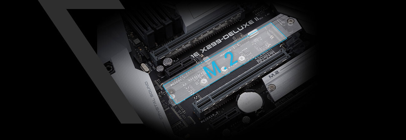 ASUS PRIME X299-DELUXE II Złącze M.2