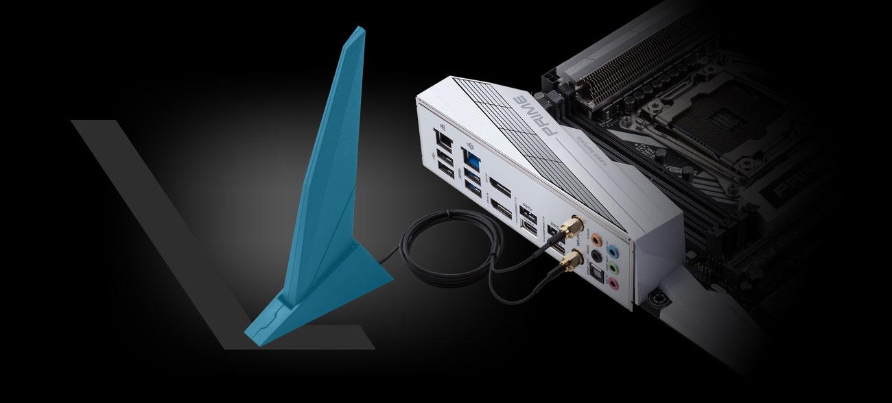 ASUS PRIME X299-DELUXE II Łączność z siecią