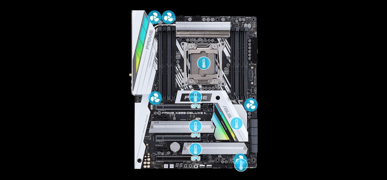 ASUS PRIME X299-DELUXE II Fan Xpert 4