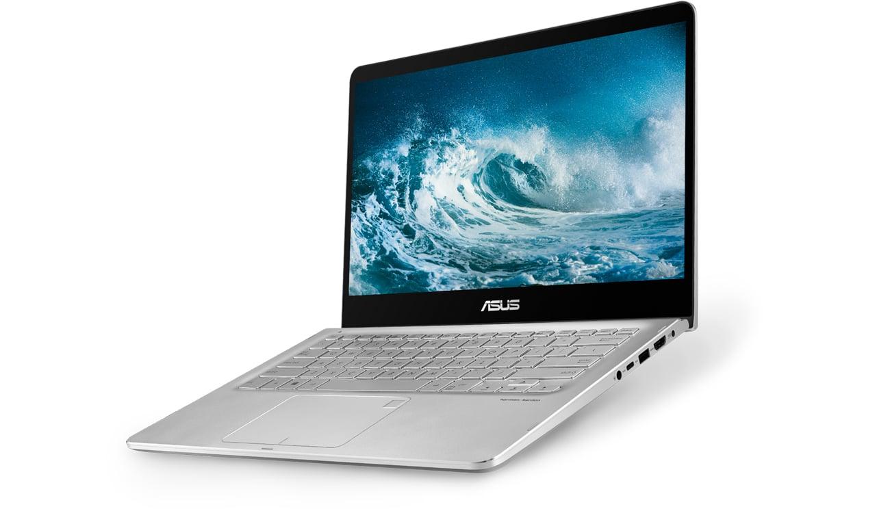 ASUS Q405UA wydajność efektywność procesor układ graficzny technologia intel